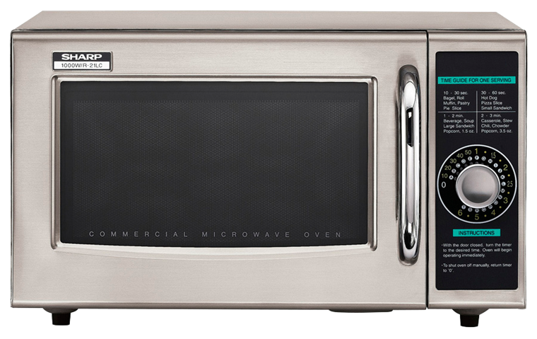 Medium Duty Commercial Microwave With 1000 Watts