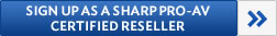 Sharp ProAV Certified Reseller