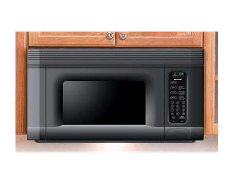 Sharp R-1405 950-Watt 1-2/5-Cubic-Foot Over-the-Range Microwave Oven review