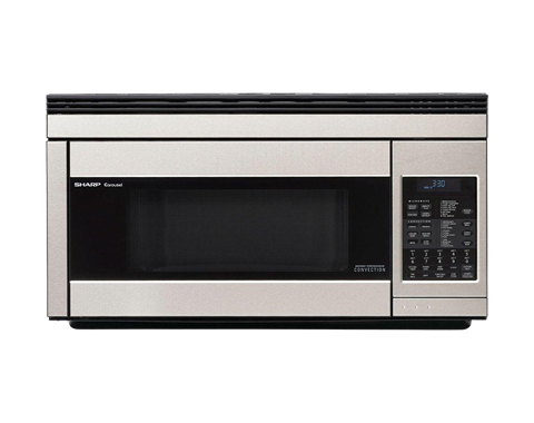 R 1874ty Microwave 1 1 Cu Ft Steel Over The Range Oven