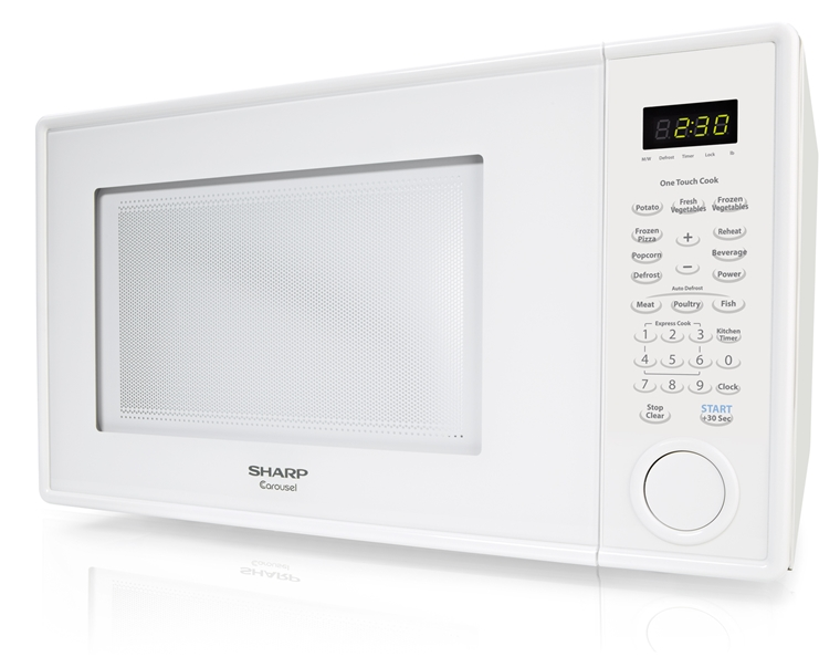Cu Ft White Countertop Microwave: R-309YW Microwave