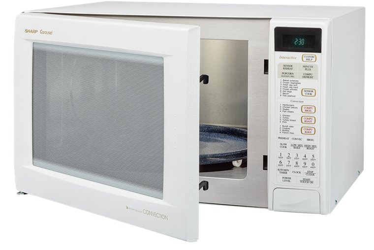 R 930aw 1 5 Cu Ft Convection Microwave W White Finish