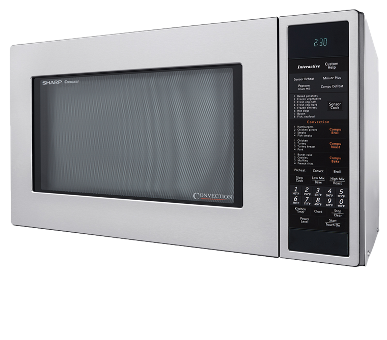 R 930cs 1 5 Cu Ft Convection Microwave Stainless Steel