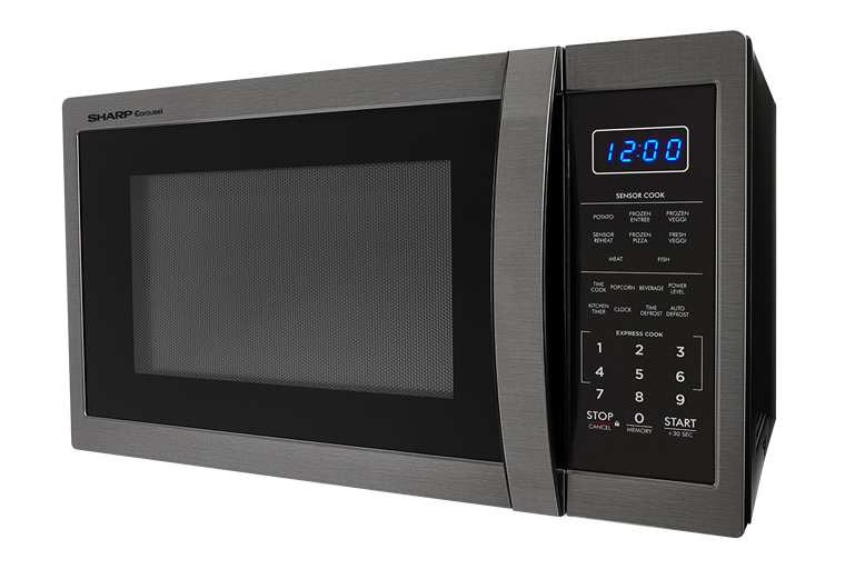 Smc1452ch 1 4 Cu Ft Black Stainless Steel Microwave