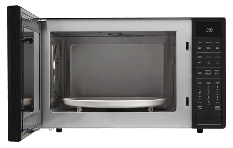 Smc1585bb 1 5 Cu Ft Black Convection Microwave Sharp