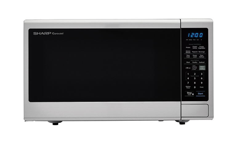 1.4 cu. ft. Sharp Black Orville Redenbacher's Microwave (SMC1443CM)