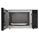 1.5 cu. ft. Black Carousel Convection Microwave (SMC1585BB) – front view with door open