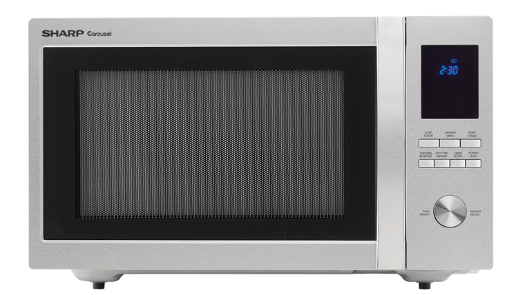 1.6 cu. ft. Sharp Stainless Steel Carousel Microwave (SMC1655BS)