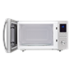 1.6 cu. ft. Sharp Stainless Steel Carousel Microwave (SMC1655BS) – front view with door open