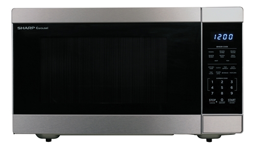 Sharp Microwaves ZSMC0710BW Sharp 700W Countertop Microwave Oven White 0.7 Cubic Foot