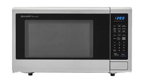 2 2 Cu Ft 1200w Stainless Steel Countertop Microwave