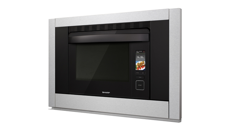 SuperSteam+TM Convection Steam Oven (SS-C3088AS) – left angle view