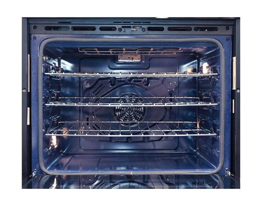Stainless Steel European Convection Built-In Wall Oven (SWA3052DS) – interior view
