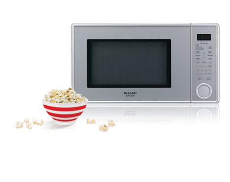 Sharp microwaves get popcorn and coffee perfect every time – Sharp Microwaves Info Center