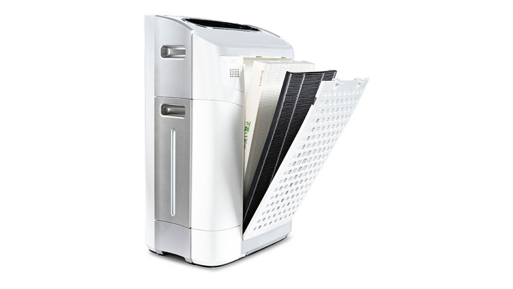 Sharp air purifiers feature true HEPA filtration for almost perfect allergen removal