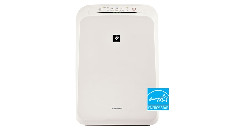 Sharp HEPA Air Purifier with Plasmacluster® Ion Technology for Small Rooms (FP-F50UW)