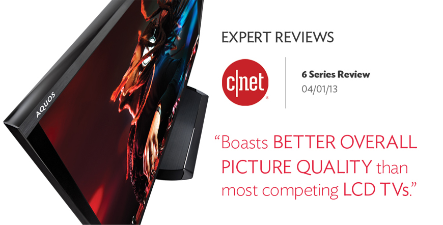 Boasts Better Overall Picture Quality tha nmost competing LCD TVs