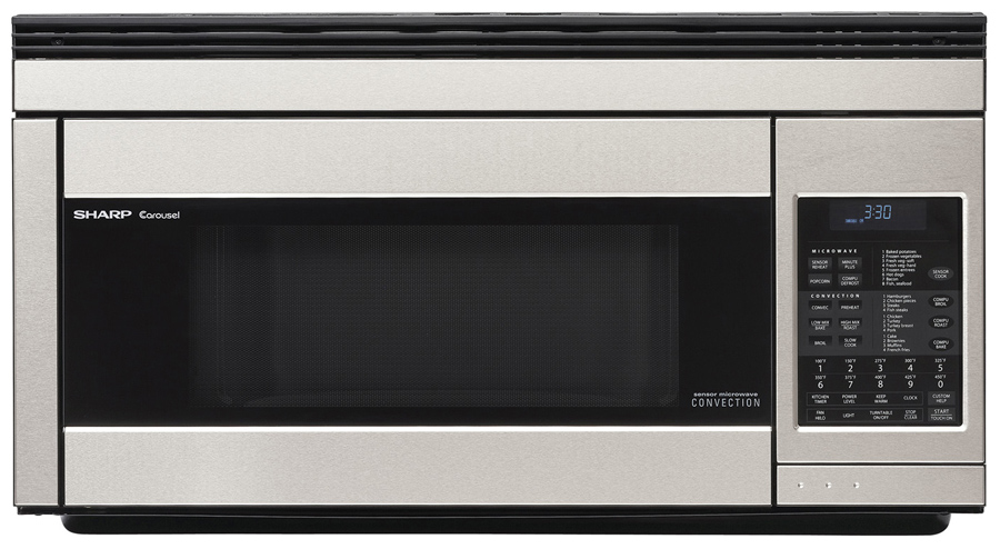 15 Inch Height Over The Range Microwave Ovens Low