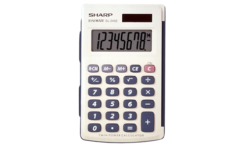 EL-243SB Basic Calculator