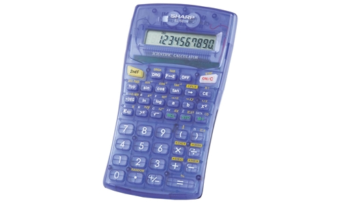 EL-501WBBL Scientific Calculator