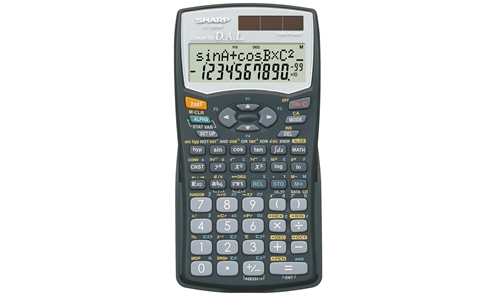 EL-520WBBK Scientific Calculator