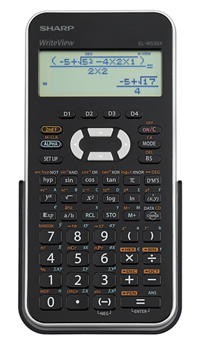 el w535xbsl scientific calculators sharp rh sharpusa com Sharp EL 501X Manual User Sharp EL W516x
