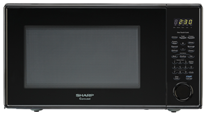 1.1 cu. ft. Sharp Black Countertop Microwave (R-309YK)