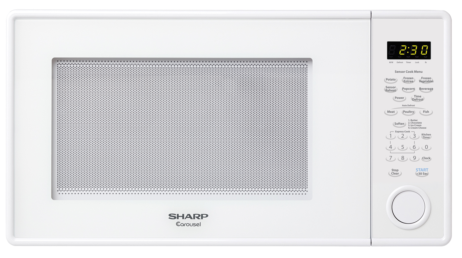 459YW 1.3 Cu Ft Countertop Microwave Oven - SHARP