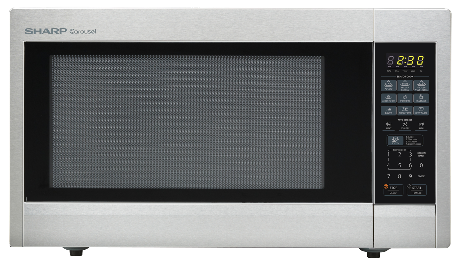 2.2 cu. ft. Stainless Steel Countertop Microwave (R-651ZS)