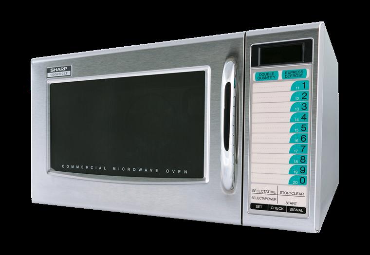 R 21ltf Commercial Microwave Commercial Appliances Sharp