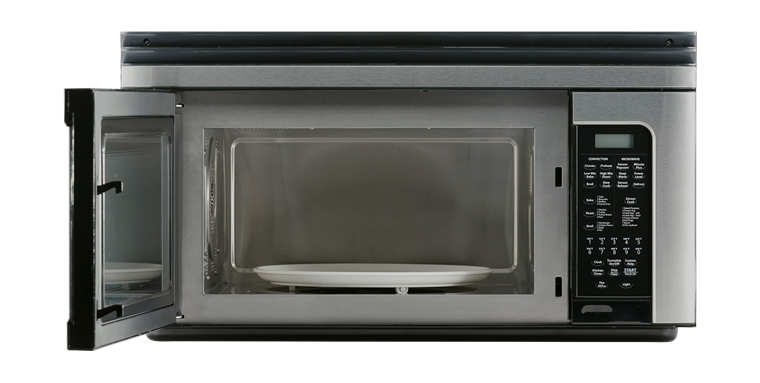 R 1881lsy 1 1 Cu Ft Steel Over The Range Microwave