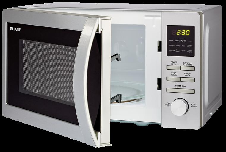 Countertop Microwave Small Footprint : 226BS Range Microwave - 1.1 Cu Ft, Stainless Steel