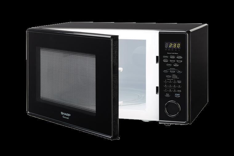 Sharp Black Countertop Microwave R 559yk Left