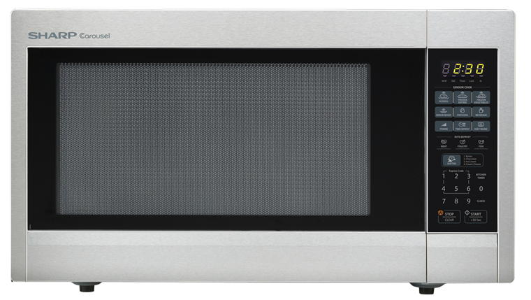 Stainless Steel Countertop Microwave R 651zs