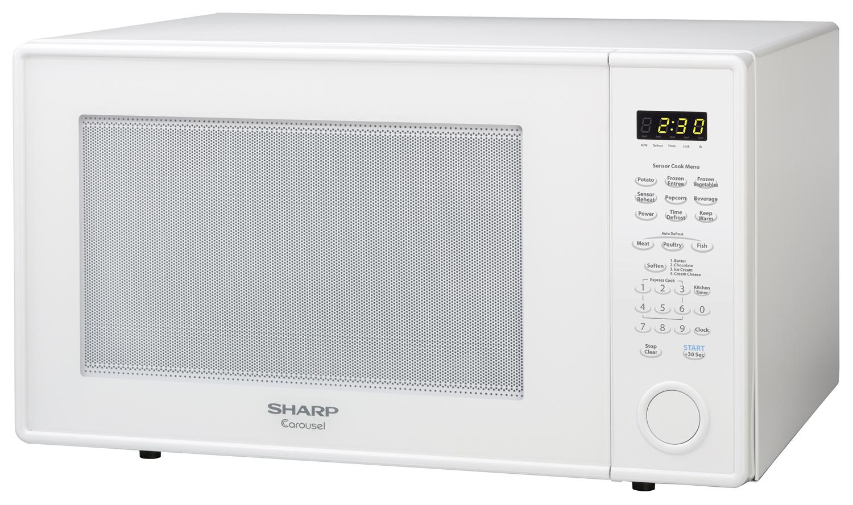 r 659yw 2 2 cu ft white countertop microwave sharp rh sharpusa com GE Household Microwave Oven Parts Household Microwave Oven Samsung