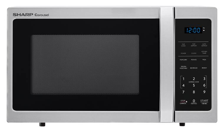 Sharp Stainless Steel Carousel Microwave Smc0912bs