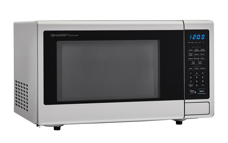 Smc1132cs 1 1 Cu Ft Stainless Steel Carousel Microwave