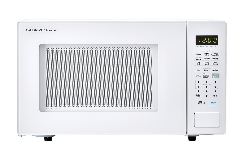 1000w Sharp White Countertop Microwave Smc1441cw