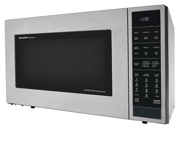 Smc1585bs 1 5 Cu Ft Stainless Steel Convection Microwave