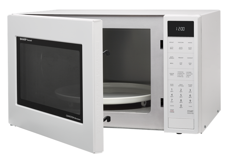 countertop homeappliances angle cu models carousel sharp white ft convection microwave view microwaves left forhome
