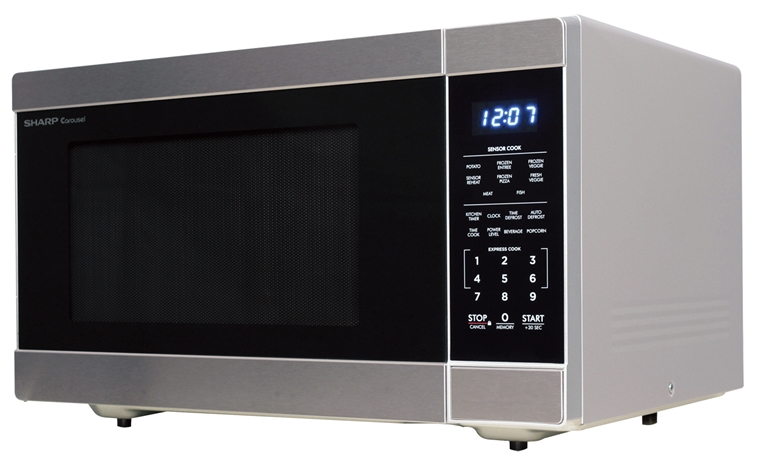 Smc1662ds 1 6 Cu Ft Stainless Steel Countertop Microwave
