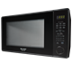 2.2 cu. ft. 1200W Sharp Black Countertop Microwave Oven (R-659YK) – left side view