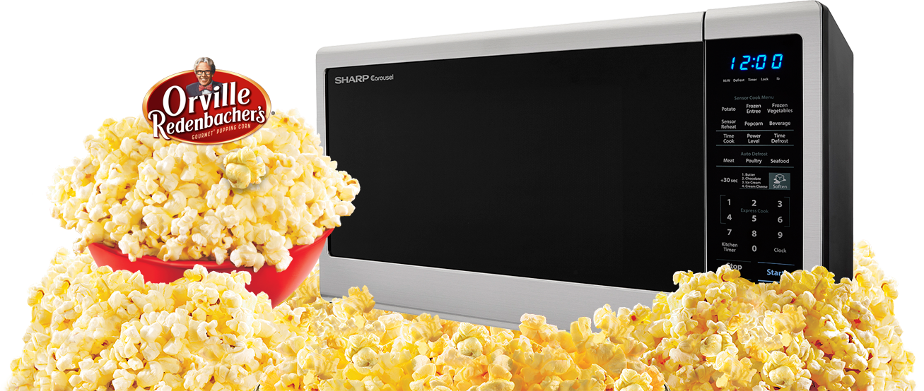 best microwave popcorn sharp orville redenbacher s microwave ovens for popcorn 30964