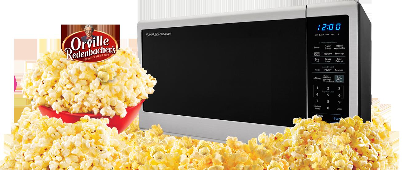 Sharp Orville Redenbacher S Microwave Ovens For Popcorn