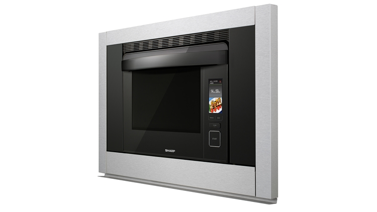SuperSteam+TM Convection Steam Oven (SS-C3088AS) – left side view
