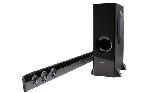 2 1 Channel Slim Sound Bar Home Theater System