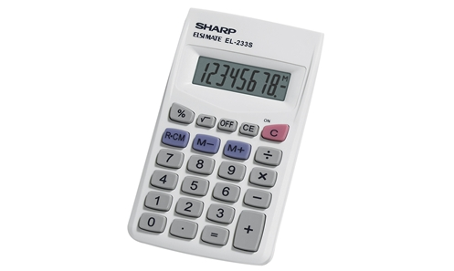 EL-233SB Basic Calculator
