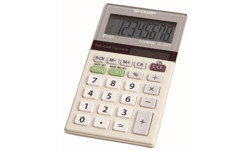 EL-244TB Basic Calculator