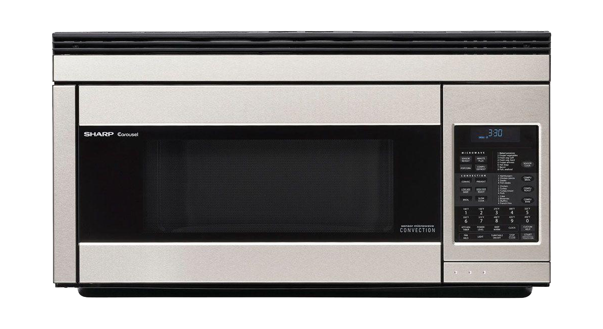 Sharp Convection Microwave Over The Range Ovens Are Most Advanced Design On Market And S R 1874 Easy Ing Designs Provide Added Room